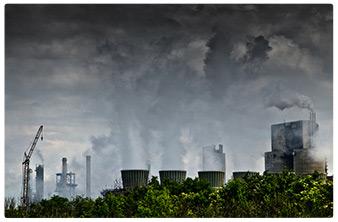 inquinamento fabbriche