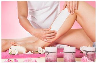 ceretta gambe professionale rosa