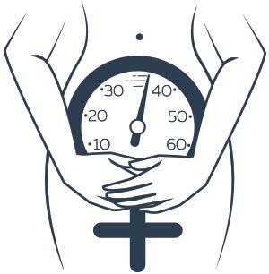 Orologio silhouette donna menopausa