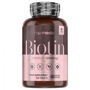 Compresse di Biotina Maxmedix