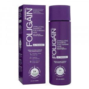 Image of Foligain Shampoo Trioxidil 2% Ricrescita Capelli Donna 236ml - Anticaduta e Diradamento Capelli Donna - Miglior Shampoo Anticaduta a Tripla Azione