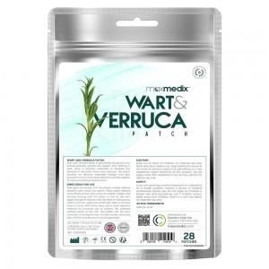 Cerotti Naturali per Porri e Verruche – Trattamento Igienico e Naturale - 28 Cerotti Rotondi.